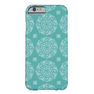 Funda Barely There iPhone 6 Mandala Spruce azul