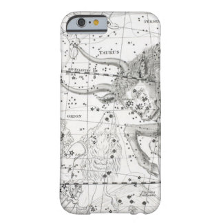 Funda Barely There iPhone 6 Mapa de la placa XIV de las constelaciones