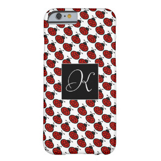 Funda Barely There iPhone 6 Mariquitas rojas y negras