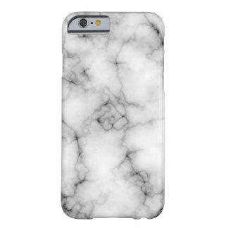 Funda Barely There iPhone 6 Mármol blanco muy realista