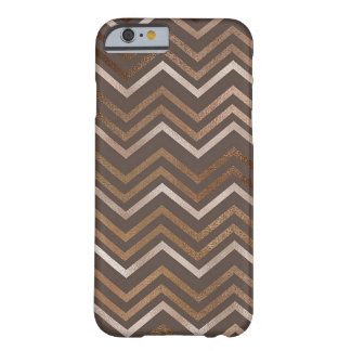 Funda Barely There iPhone 6 Mármol reluciente del zigzag