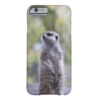 Funda Barely There iPhone 6 Meerkat en la caja del teléfono de Barely There