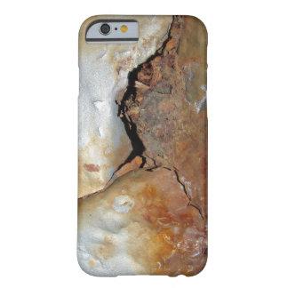 Funda Barely There iPhone 6 Metal del Grunge oxidado