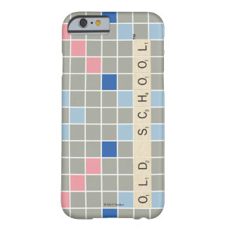 Funda Barely There iPhone 6 Modelo 2 del Scrabble
