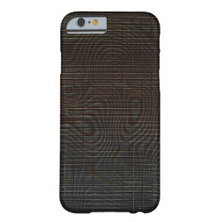 Funda Barely There iPhone 6 Modelo abstracto oscuro cambiante