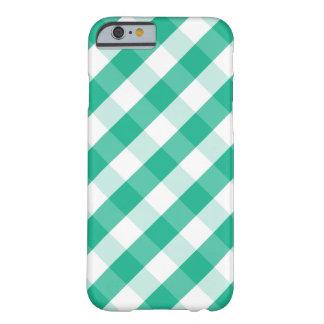 Funda Barely There iPhone 6 Modelo blanco verde simple de la guinga de St