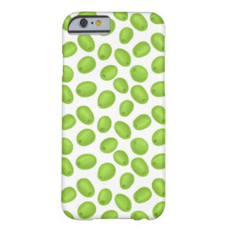 Funda Barely There iPhone 6 Modelo con las aceitunas verdes