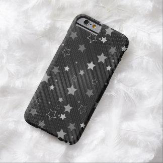 Funda Barely There iPhone 6 Modelo de estrellas negro