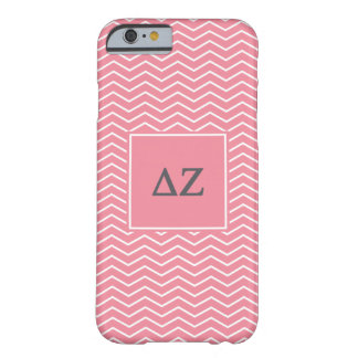 Funda Barely There iPhone 6 Modelo de la zeta el | Chevron del delta
