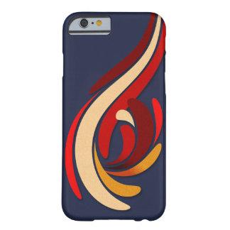 Funda Barely There iPhone 6 Modelo moderno caliente del Flourish