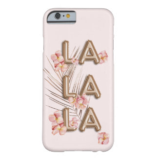 Funda Barely There iPhone 6 Motivación de moda femenina de la flor de RoseGold
