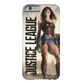 Funda Barely There iPhone 6 Mujer Maravilla de la liga de justicia el | en