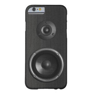 Funda Barely There iPhone 6 Música divertida del altavoz sano