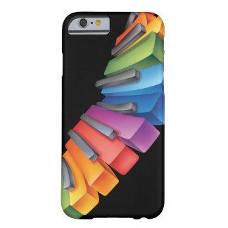 Funda Barely There iPhone 6 Música fresca del teclado colorido