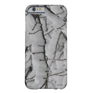 Funda Barely There iPhone 6 nieve del caso del iPhone