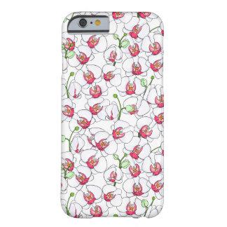 Funda Barely There iPhone 6 Orquídeas blancas