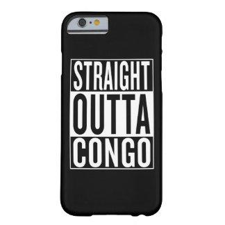 Funda Barely There iPhone 6 outta recto Congo
