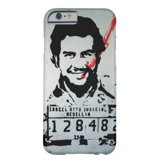 Funda Barely There iPhone 6 Pablo Escobar