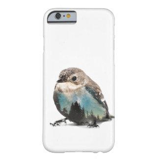 Funda Barely There iPhone 6 Pájaro de la exposición doble