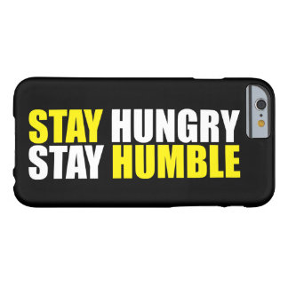 Funda Barely There iPhone 6 Palabras de motivación - la estancia hambrienta,