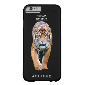 Funda Barely There iPhone 6 palabras frescas inspiradoras del éxito de la