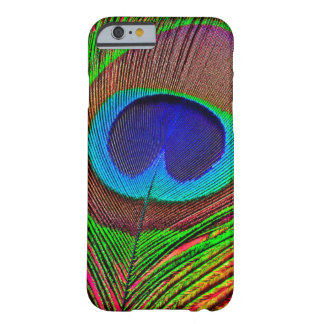 Funda Barely There iPhone 6 Pavo real coloreado