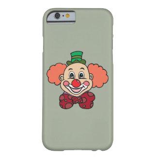 Funda Barely There iPhone 6 Payaso feliz de la cara