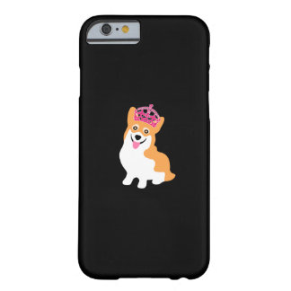 Funda Barely There iPhone 6 Pequeña princesa linda Wearing del Corgi una