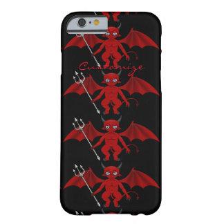 Funda Barely There iPhone 6 Pequeño diablo rojo Thunder_Cove