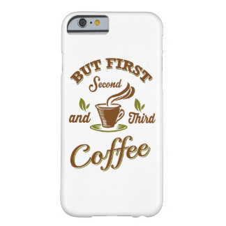 Funda Barely There iPhone 6 Pero primer café