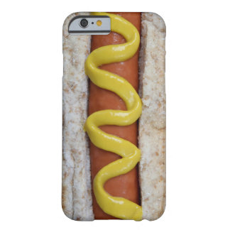 Funda Barely There iPhone 6 perrito caliente delicioso con la fotografía de la