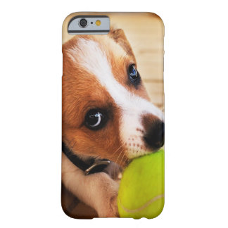 Funda Barely There iPhone 6 Perrito lindo de Jack Russell