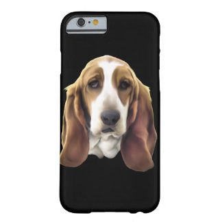 Funda Barely There iPhone 6 Perro de Basset Hound