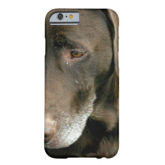 Funda Barely There iPhone 6 Perro de Brown