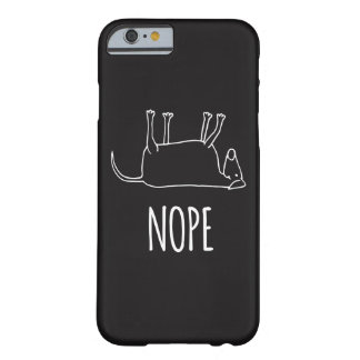Funda Barely There iPhone 6 Perro perezoso - Nope