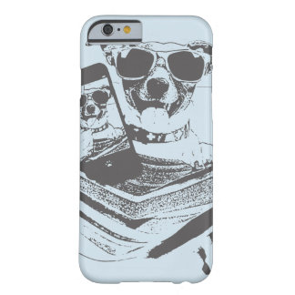 Funda Barely There iPhone 6 perros del selfie
