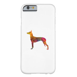 Funda Barely There iPhone 6 Pharaoh Hound  in watercolor