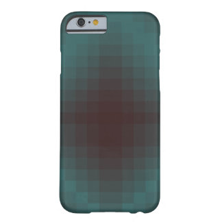 Funda Barely There iPhone 6 Píxel Cyan rojo