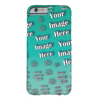 Funda Barely There iPhone 6 Plantilla fácil rápida de la foto de Digitaces