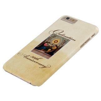 Funda Barely There iPhone 6 Plus 50.o Ángeles del aniversario de la ordenación en