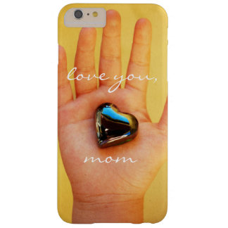 "Funda Barely There iPhone 6 Plus ""Ámele la mano del niño lindo de la mamá"" que"