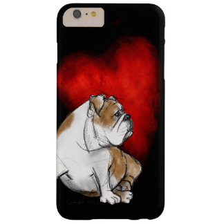 Funda Barely There iPhone 6 Plus Amor del dogo