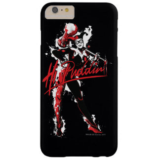 "Funda Barely There iPhone 6 Plus Arte de la tinta del Puddin'"" de Batman el 