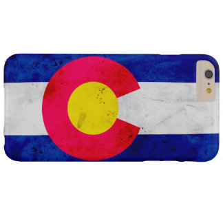 Funda Barely There iPhone 6 Plus Bandera patriótica del estado de Colorado del