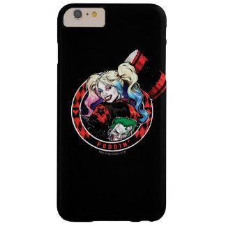 Funda Barely There iPhone 6 Plus Batman el | Harley Quinn que guiña con el mazo