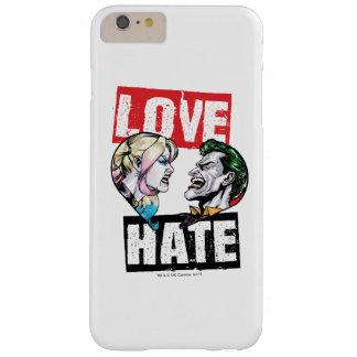 Funda Barely There iPhone 6 Plus Batman el | Harley Quinn y amor del comodín/odio