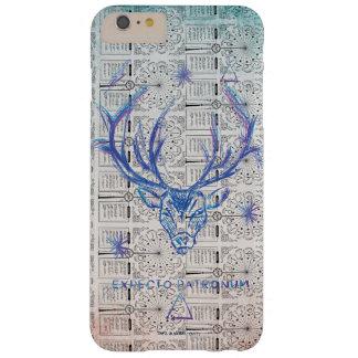 Funda Barely There iPhone 6 Plus Bosquejo de Patronus del macho del encanto el | de