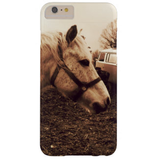 Funda Barely There iPhone 6 Plus Caballo y autobús Dappled