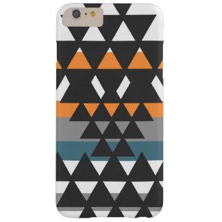 Funda Barely There iPhone 6 Plus Caja azteca del teléfono del carbón de leña