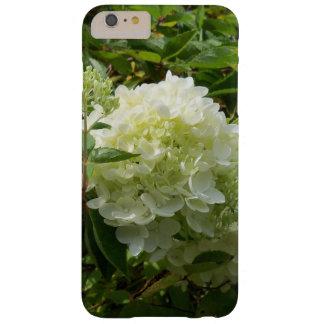 Funda Barely There iPhone 6 Plus Caja blanca del teléfono del Hydrangea